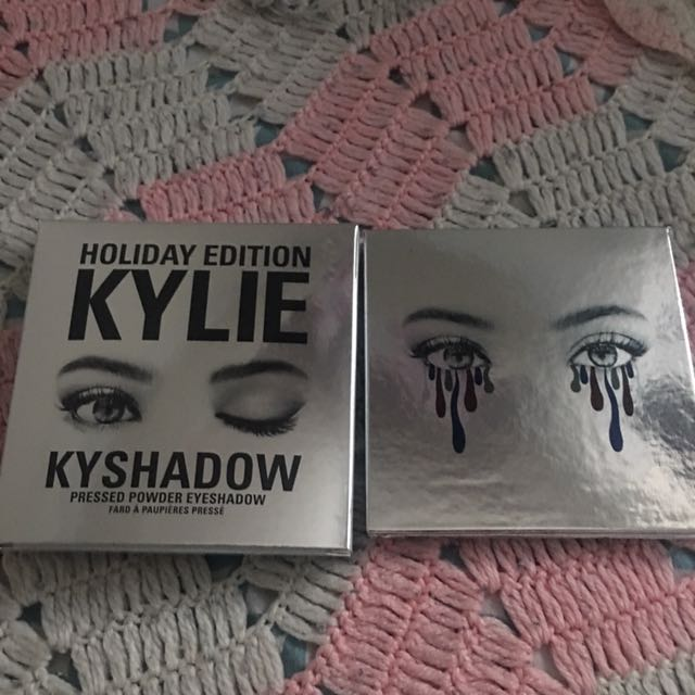Authentic Kylie Cosmetics Holiday Edition Kyshadow