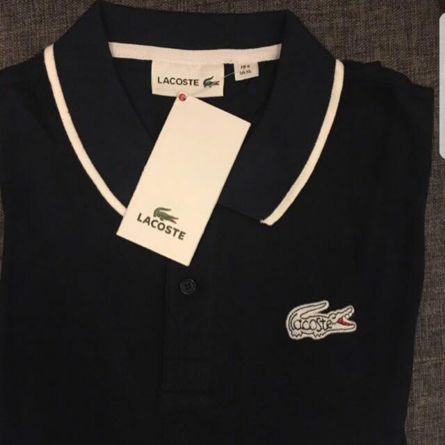 866a4a419 Lacoste Original Logo Polo Shirt, Men's Fashion, Clothes on Carousell