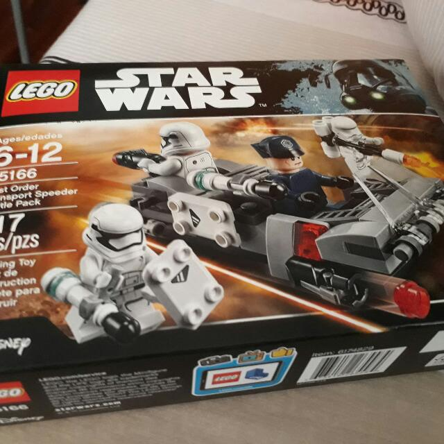 Lego Star Wars First Order Trooper Battle Pack