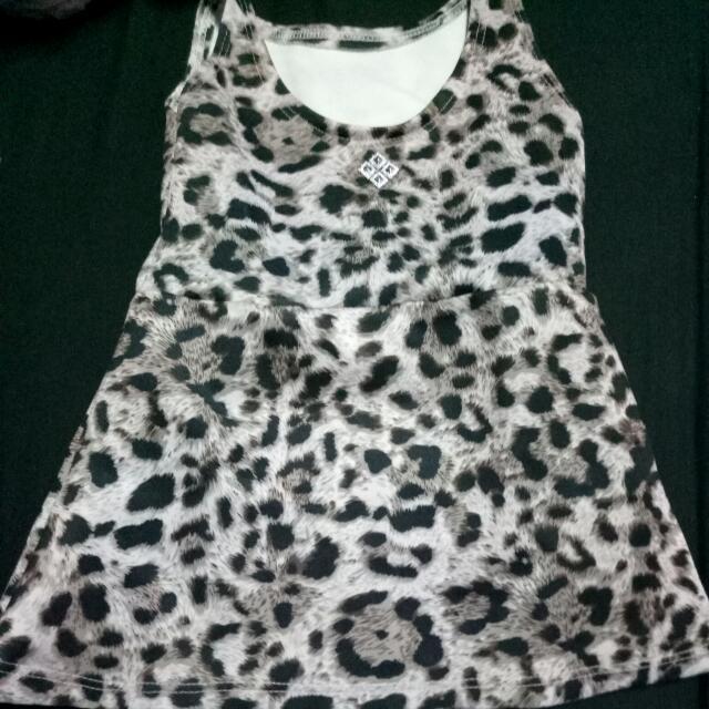 Leopard Dress 0-6mos.