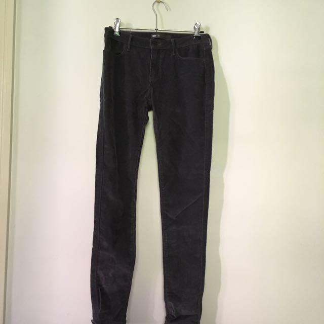 LEVIS 26 Grey Corduroy Jeans