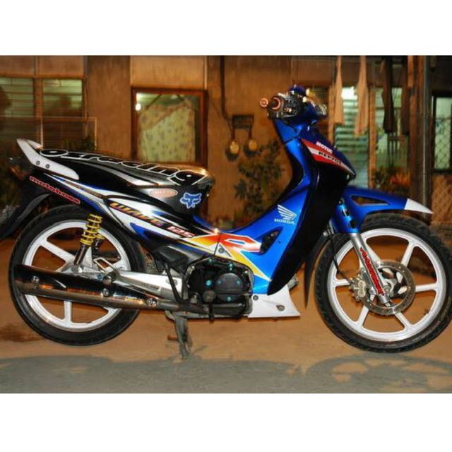Looking for honda wave 125r blue decal bulletin board looking for on carousell