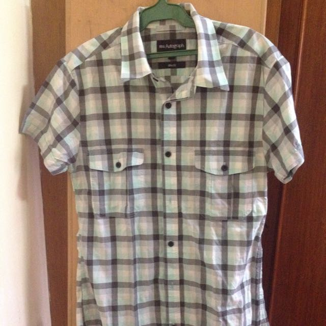 Marks and Spencer Checkered Polo