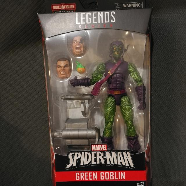 Marvel Legends Spider man Green Goblin 6inch New And Sealed