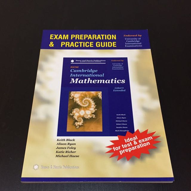 Mathematics Exam Preparation and Practice Guide