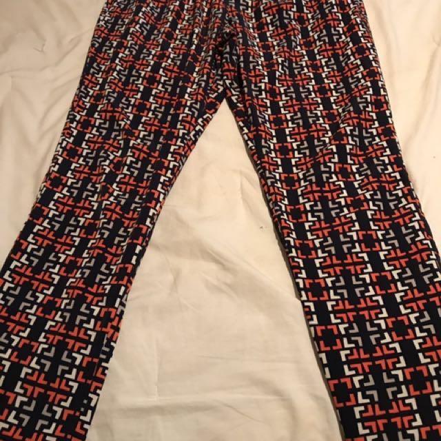 Merona Geometric Parachute Pants