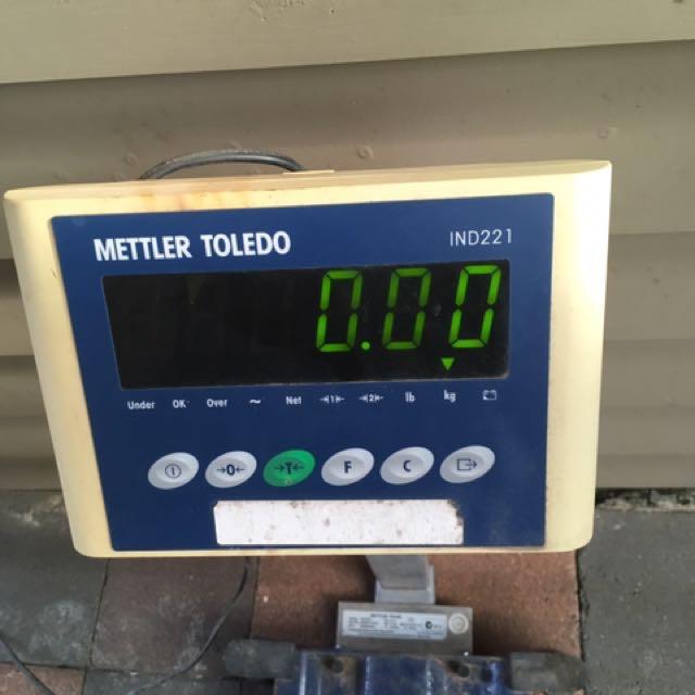 Mettler Toledo Potable Bench Scales