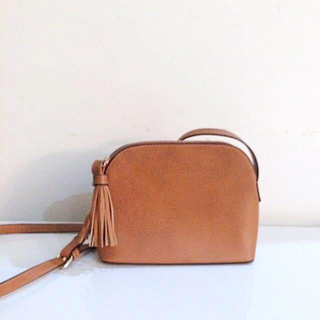 Mini  Brown Sling Bag