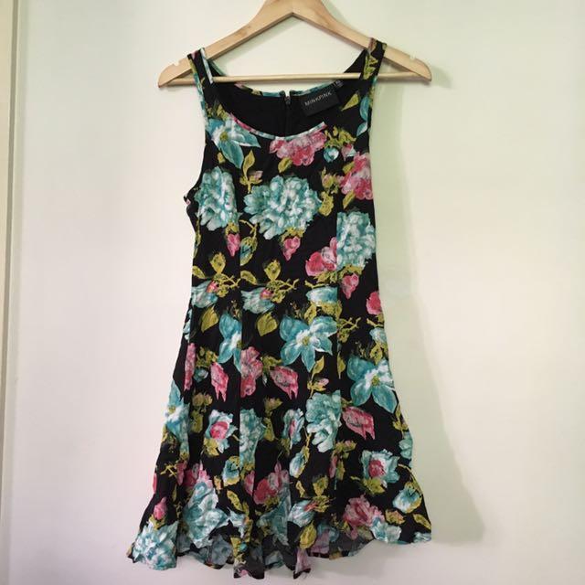 MINKPINK SZ XS Floral Dress