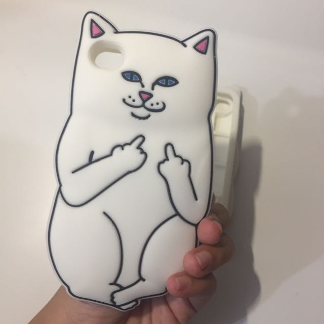 NERMAL CASE CAT SILICONE JELLYCASE IPHONE 4/4s