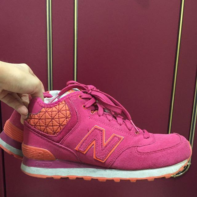 New Balance桃花絕版鞋