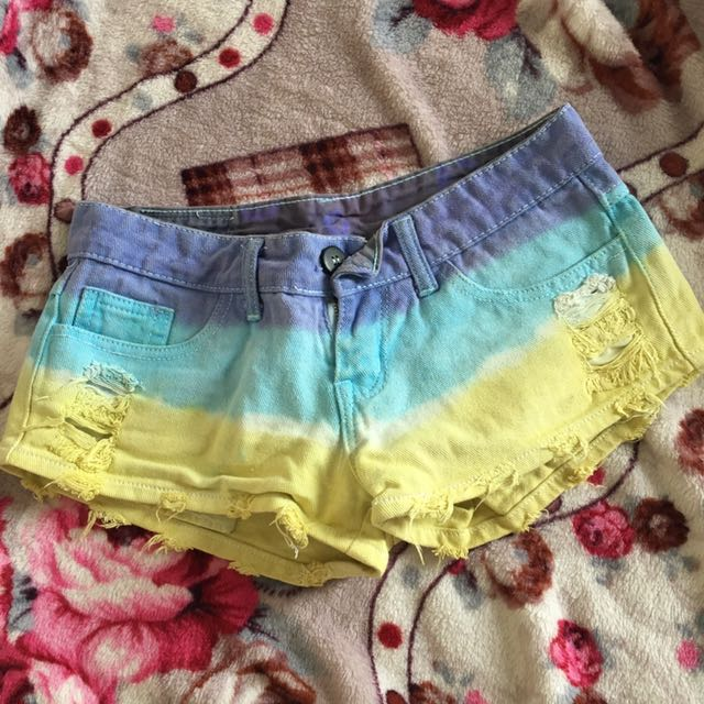 No Brand Ombre Short Pants