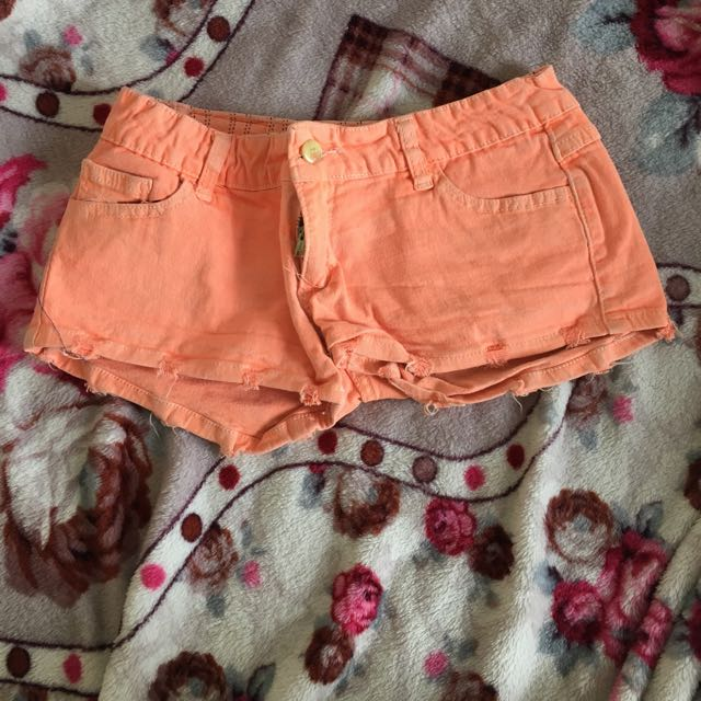 No Brand Orange Short Pants