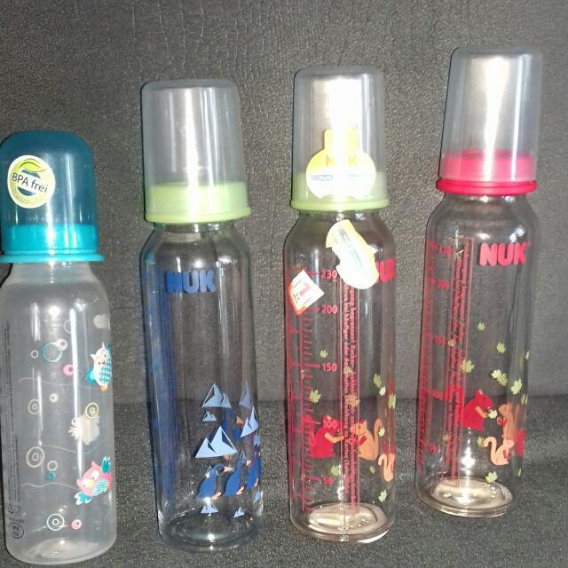 nuke glass feeding bottle
