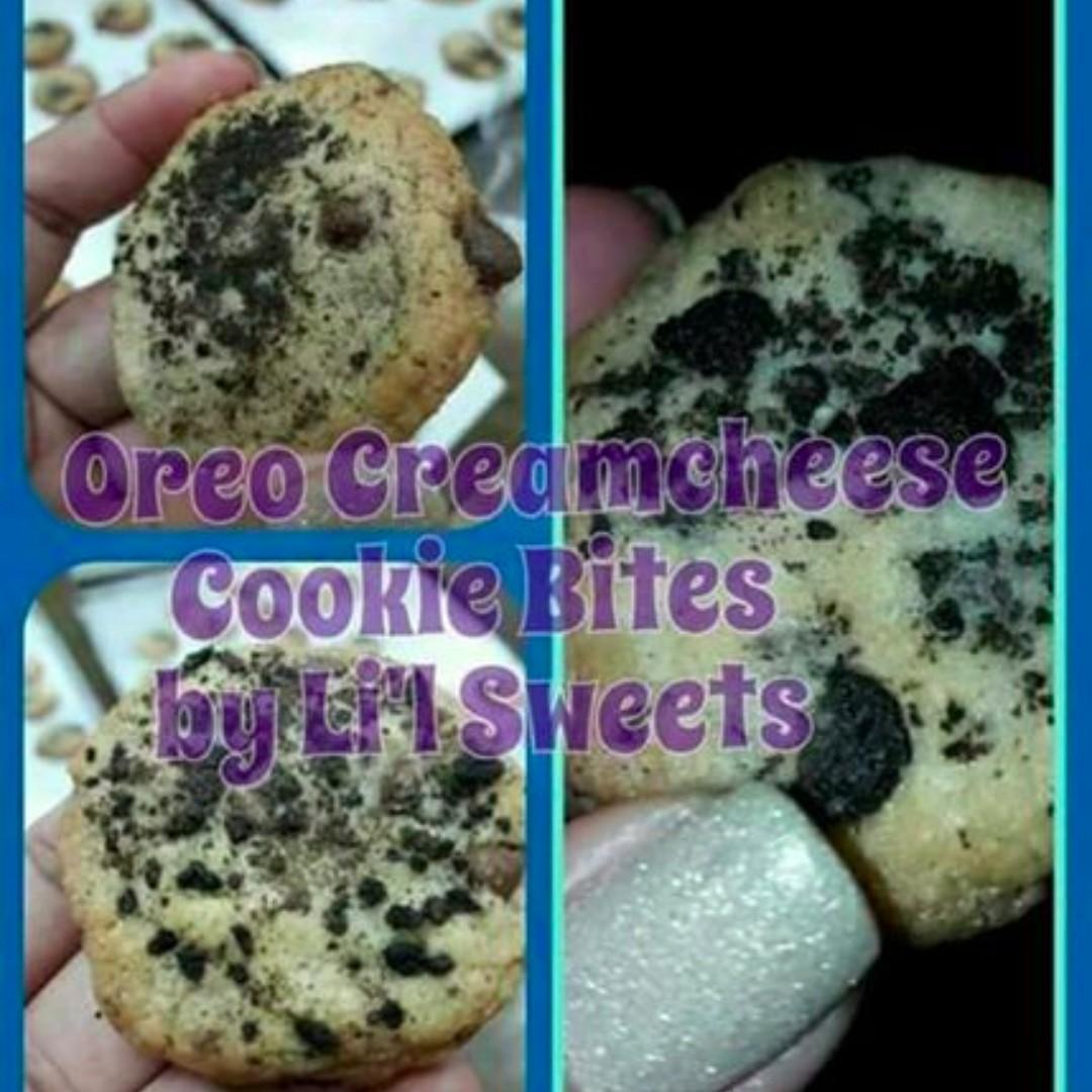 Oreo Cream Cheese Cookie Bites