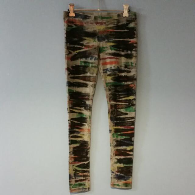 Paint Strokes Leggings