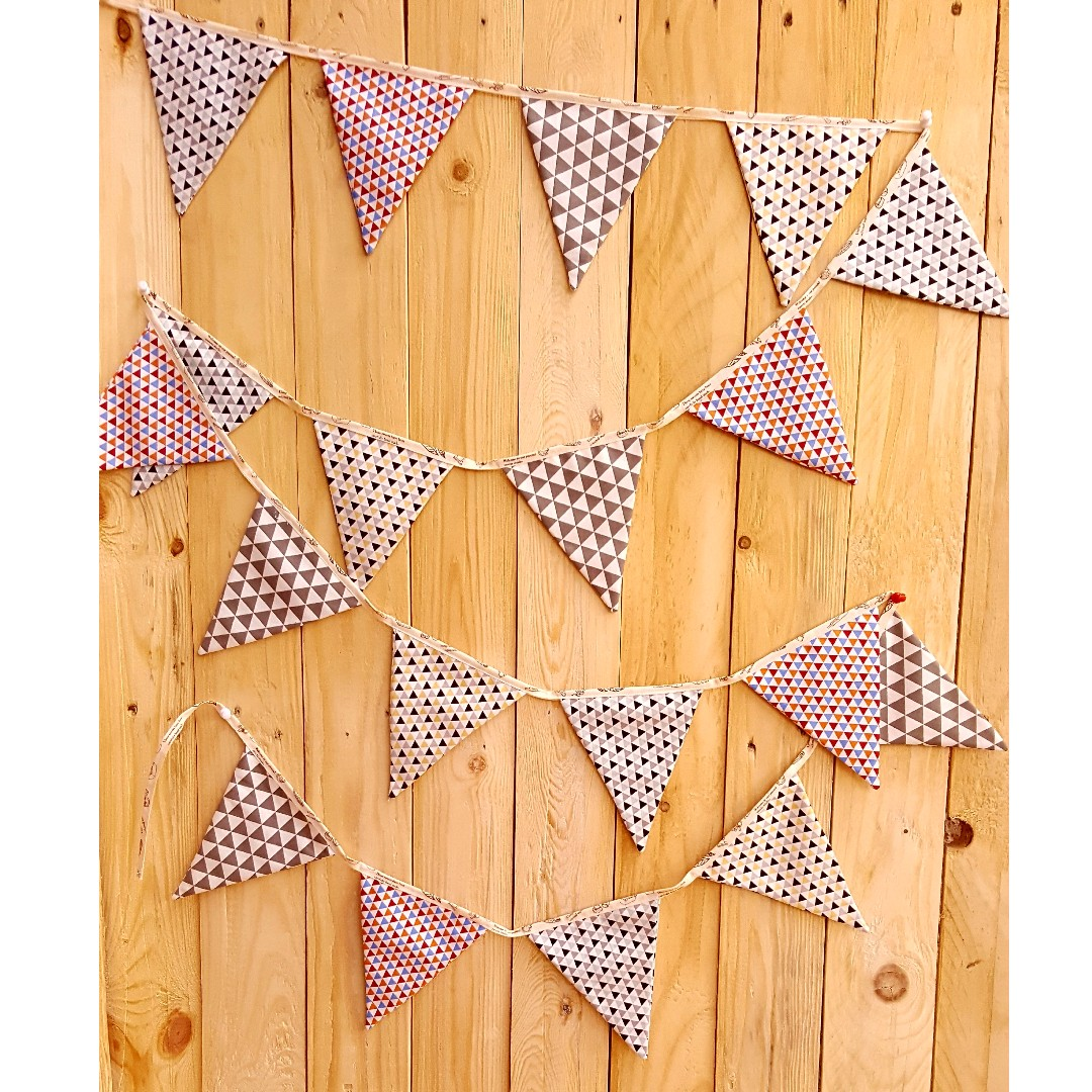 Party Bunting / Party Banner Fabric