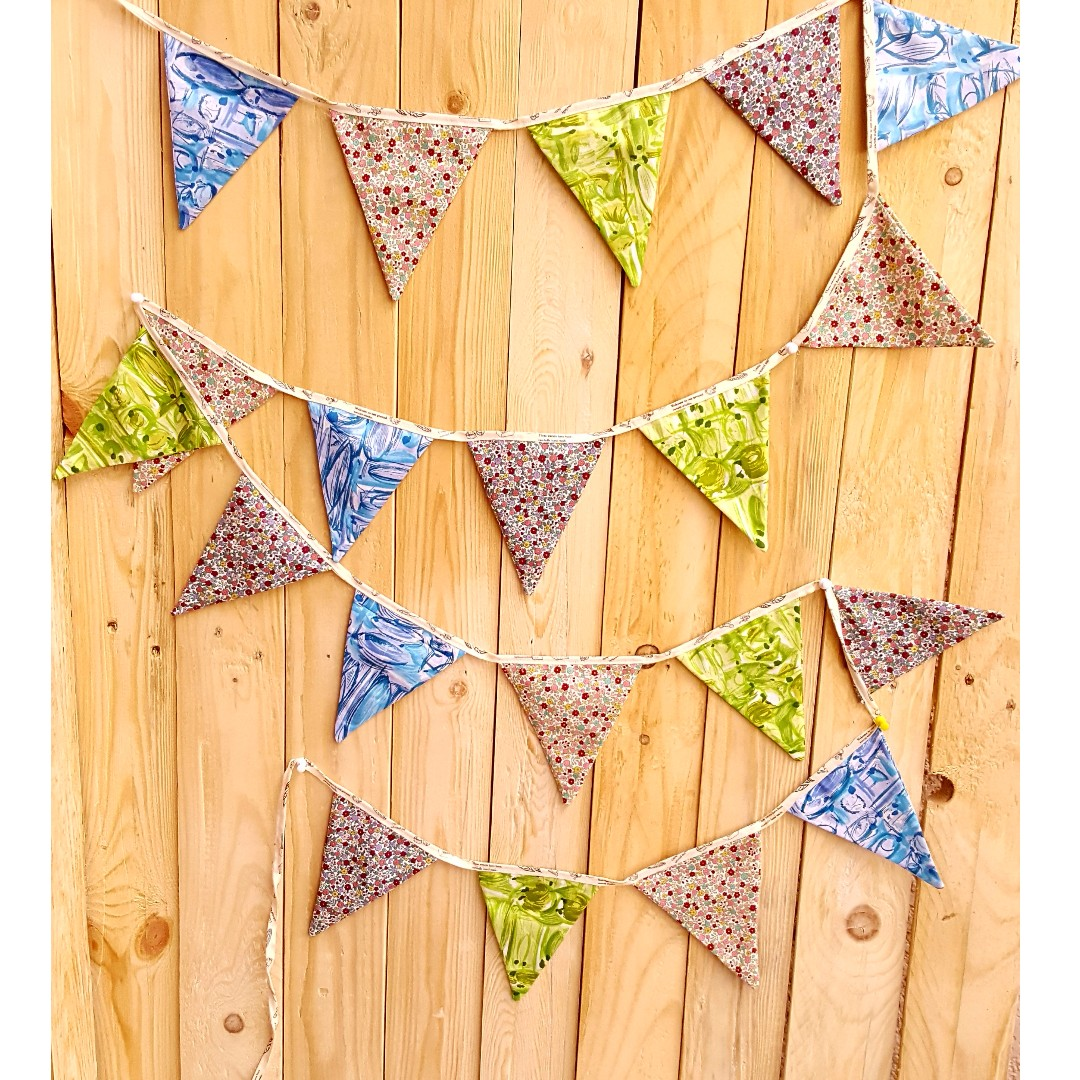 Party Bunting/ Party Banner Fabric