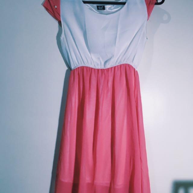 Pink A-dress