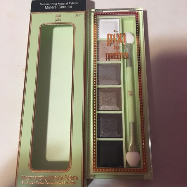 Pixi By Petra Mesmerizing Eyeshadow Palette- Mineral Contour