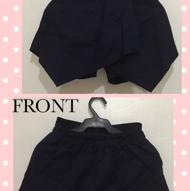 Pre-loved Short Skirt (Navy Blue)