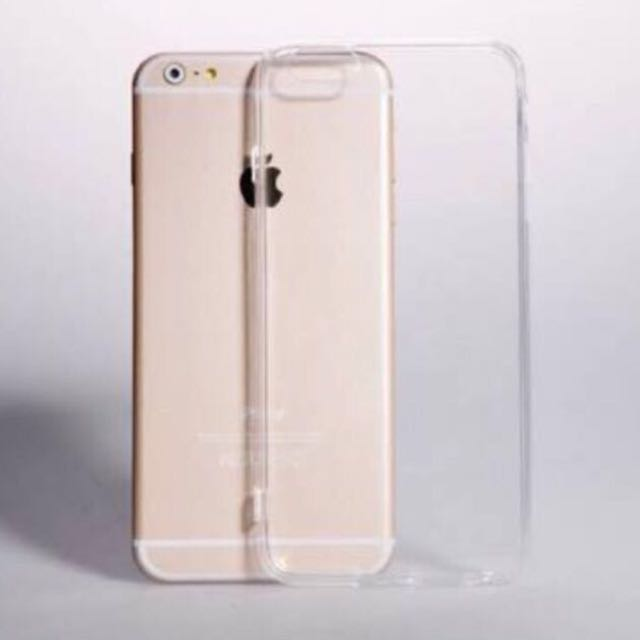 PROMO! Transparent Silicon Material Case For iPhone 6