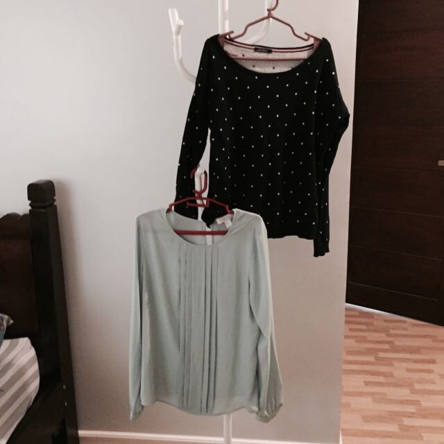 Promod And Forever 21 Tops