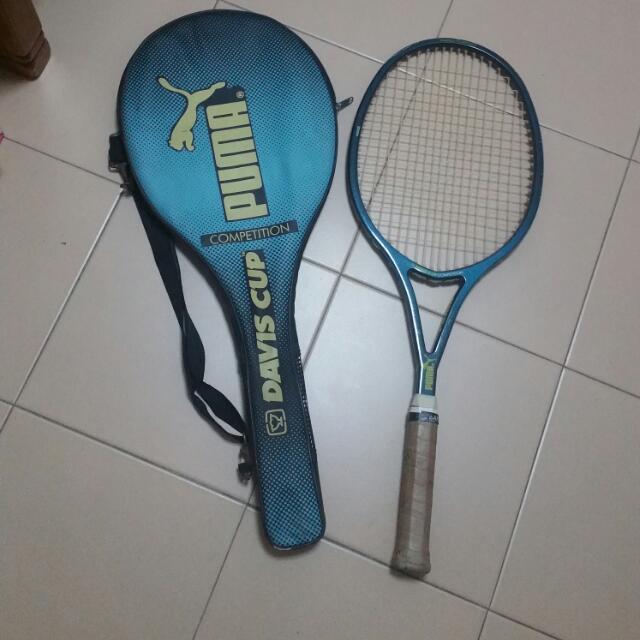 Puma tennis tacket, Sports, Sports