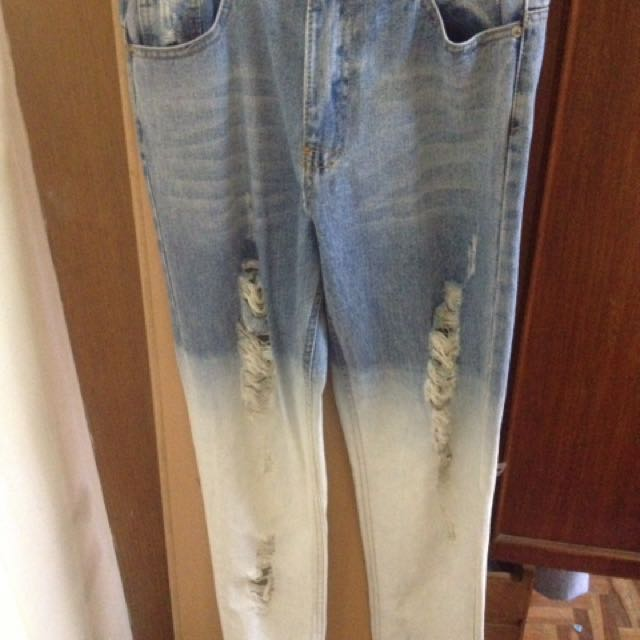 Ripped Jeans (Denim Wash) SlimFit