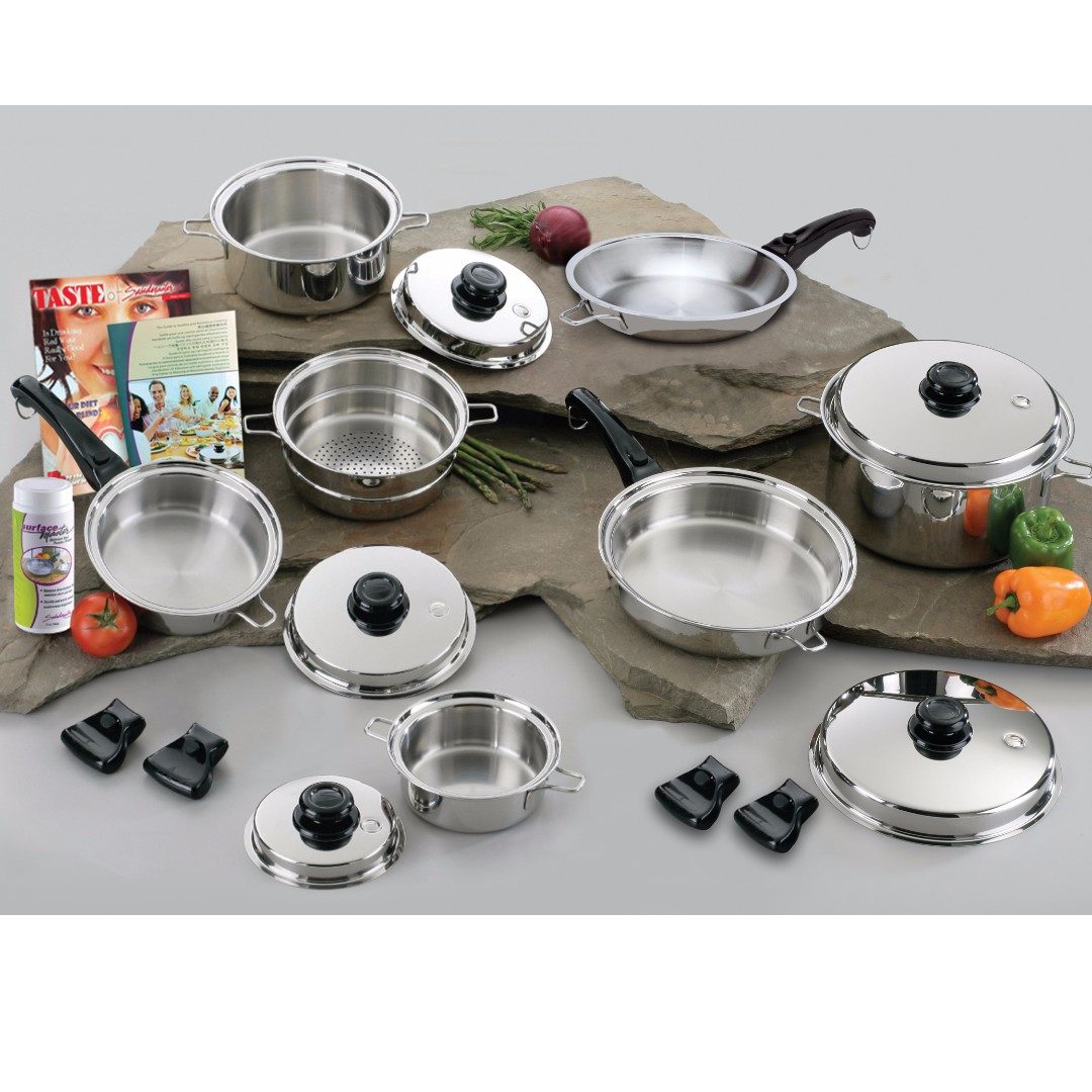 SALAD MASTER COOKWARE TITANIUM CHEF SET FROM THE US