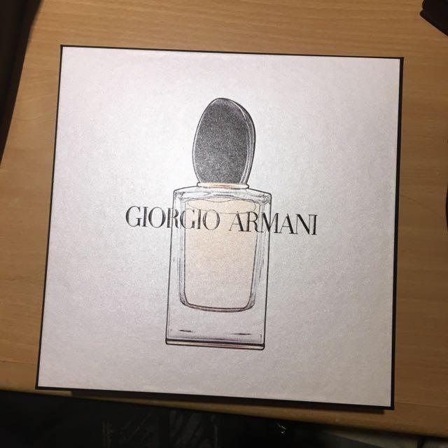 Si Armani女性淡香精頂級組✨