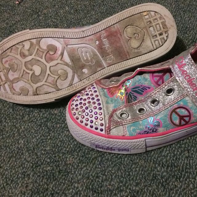 Skechers Light Up Twinkle Toes