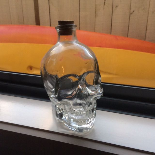 Skull Bottle Ornament