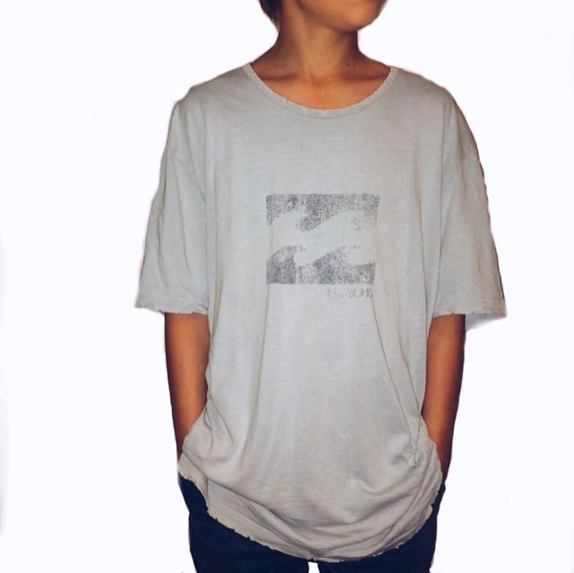 Sky Blue Vintage Billabong T-Shirt