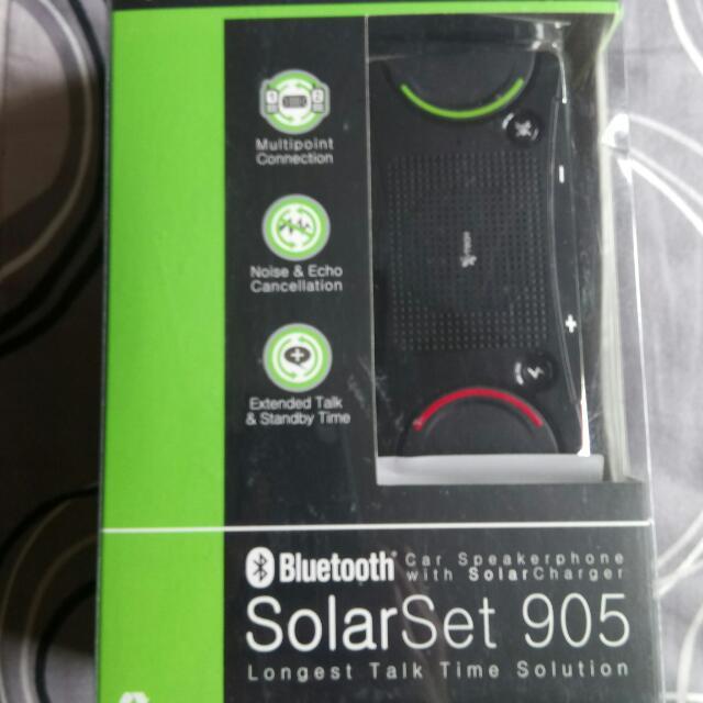 SolarSet 905藍牙免持揚聲器