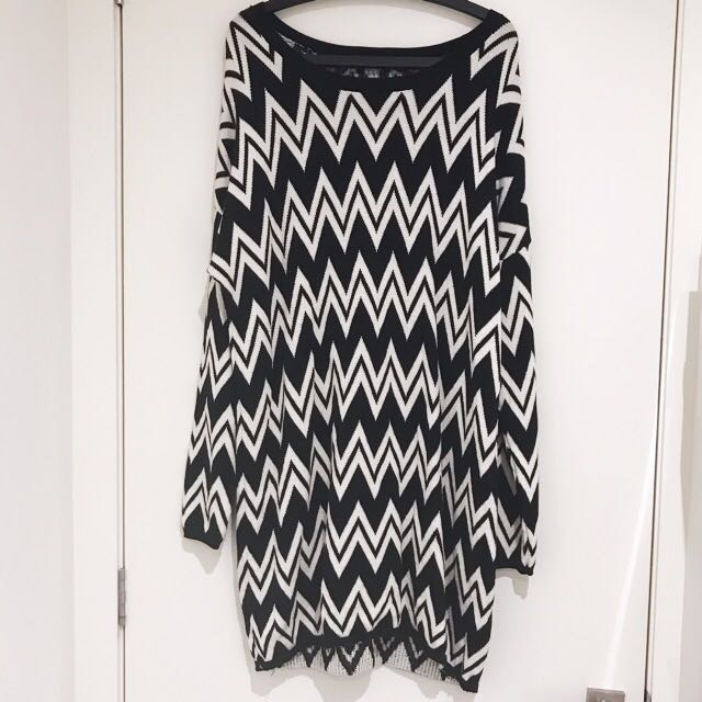 Sportsgirl Oversized Knit Jumper/Jumper Dress
