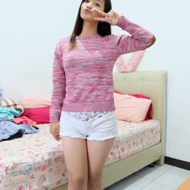 Sweater Pinky Stripes