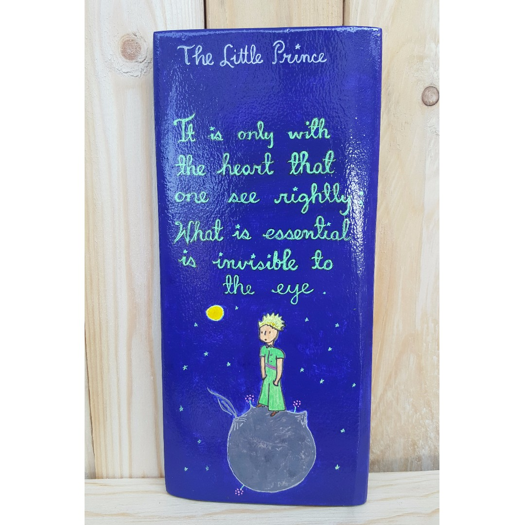 The Little Prince Wooden Decoration