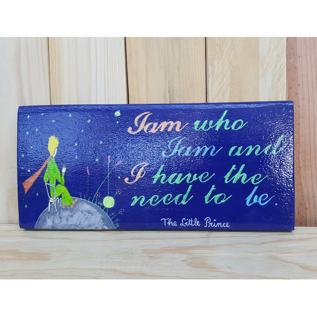 The Little Prince Wooden Wall Decoration