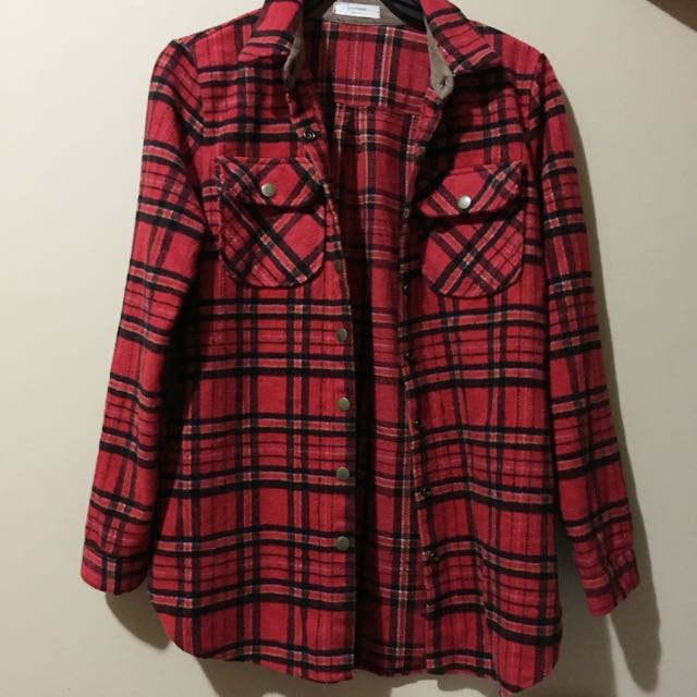 Thick Red Flannel