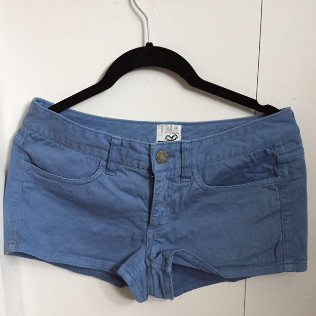 TNA blue shorts