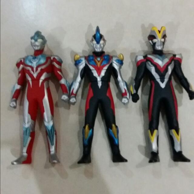 Ultraman Ginga Victory And Ginga Victory Bandai Figures