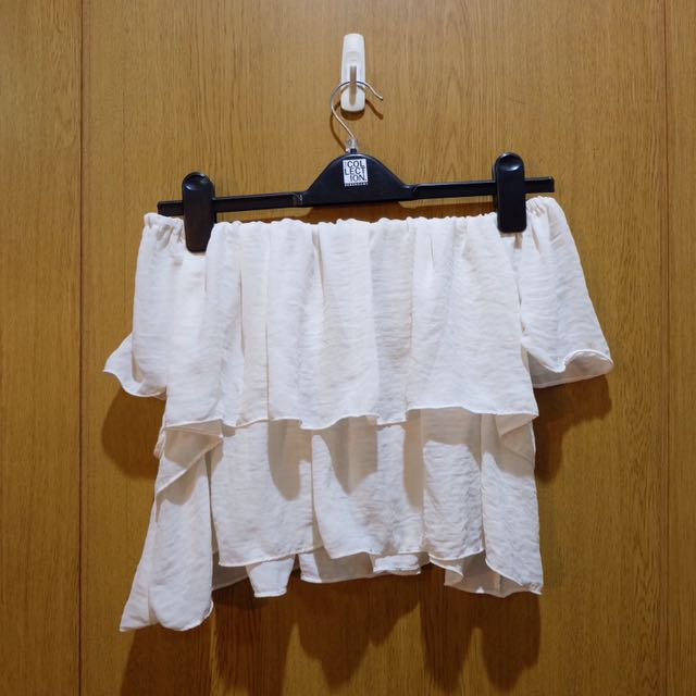Unbranded Cropped & Flowy Off-Shoulders