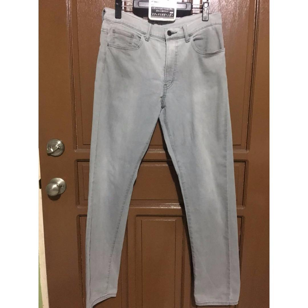 Uniqlo Light Grey Pants