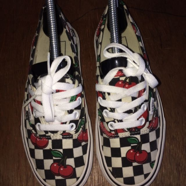 Vans Authentic Cherry Checkers