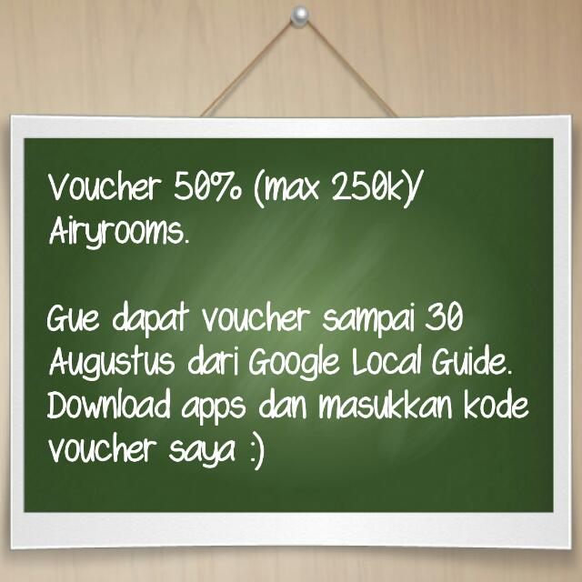 Voucher Diskon Airyrooms 50%