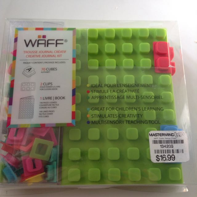 WAFF Creative Journal Kit