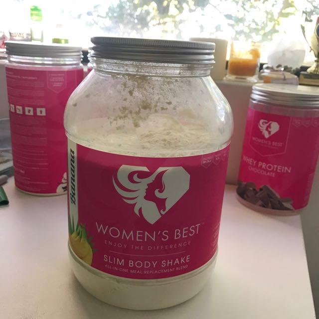 Women's Best Slim Body Shake - Banana