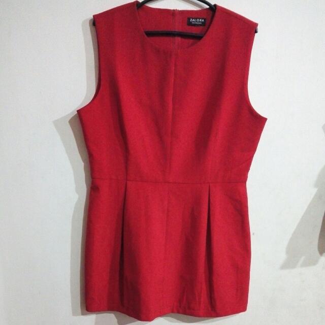 Zalora Sleeveless Dress