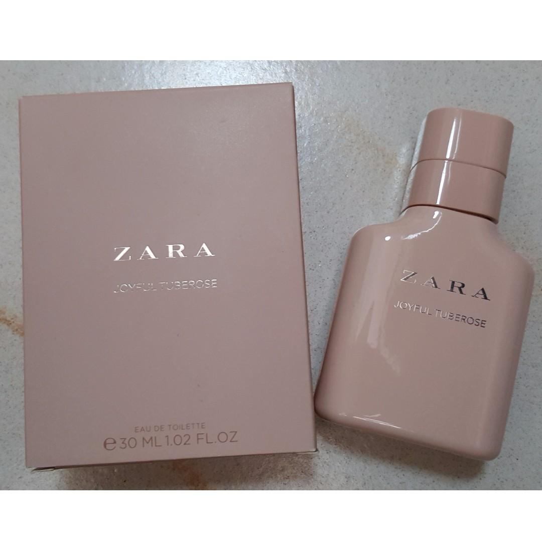 Zara Joyful Tuberose Eau De Toilette Perfume Fragrance 30ml 102 Fl